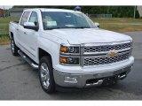 2014 Summit White Chevrolet Silverado 1500 LTZ Crew Cab 4x4 #93667226