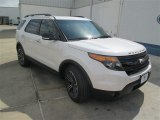 2014 White Platinum Ford Explorer Sport 4WD #93666830
