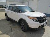 2014 White Platinum Ford Explorer Sport 4WD #93666830