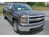2014 Tungsten Metallic Chevrolet Silverado 1500 WT Double Cab 4x4 #93667225