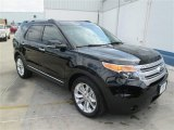 2014 Tuxedo Black Ford Explorer XLT #93666829