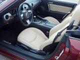 2009 Mazda MX-5 Miata Grand Touring Roadster Dune Beige Interior
