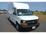 2014 Summit White Chevrolet Express Cutaway 3500 Moving Van #93667209