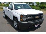 2014 Summit White Chevrolet Silverado 1500 WT Regular Cab #93667204