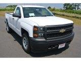 2014 Summit White Chevrolet Silverado 1500 WT Regular Cab 4x4 #93667203
