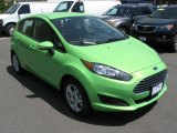 2014 Green Envy Ford Fiesta SE Hatchback #93667277