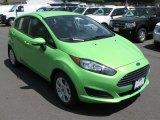 2014 Green Envy Ford Fiesta SE Hatchback #93667276