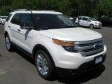 2014 White Platinum Ford Explorer XLT 4WD #93667273