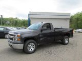 2014 Tungsten Metallic Chevrolet Silverado 1500 WT Regular Cab 4x4 #93666891