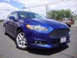 2013 Deep Impact Blue Metallic Ford Fusion SE 1.6 EcoBoost #93667136