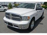 2014 Bright White Ram 1500 Big Horn Crew Cab #93667238