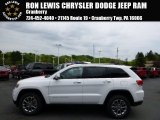 2014 Bright White Jeep Grand Cherokee Limited 4x4 #93705061