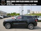 2014 Brilliant Black Crystal Pearl Jeep Grand Cherokee Limited 4x4 #93705058