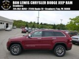 2014 Deep Cherry Red Crystal Pearl Jeep Grand Cherokee Limited 4x4 #93705056