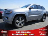 2014 Billet Silver Metallic Jeep Grand Cherokee Overland #93705137