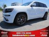 2014 Bright White Jeep Grand Cherokee SRT 4x4 #93705136