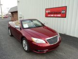 Deep Cherry Red Crystal Pearl Chrysler 200 in 2014
