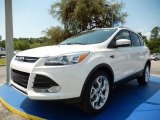 2014 White Platinum Ford Escape Titanium 2.0L EcoBoost #93705029