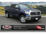 2014 Blue Ribbon Metallic Toyota Tundra SR5 Crewmax 4x4 #93704827