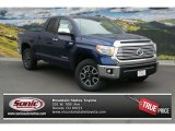 2014 Blue Ribbon Metallic Toyota Tundra Limited Double Cab 4x4 #93704825