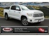 2014 Super White Toyota Tundra Platinum Crewmax 4x4 #93704823