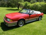1987 Ford Mustang GT Convertible Data, Info and Specs