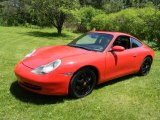 1999 Guards Red Porsche 911 Carrera Coupe #93705314