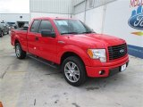 2014 Race Red Ford F150 STX SuperCab #93704982