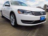 2014 Candy White Volkswagen Passat 1.8T SE #93705437