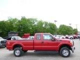 2015 Vermillion Red Ford F250 Super Duty XL Super Cab 4x4 #93752254