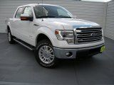 2014 White Platinum Ford F150 Lariat SuperCrew 4x4 #93752567