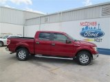 2014 Ruby Red Ford F150 XLT SuperCrew #93752296