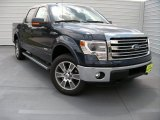2014 Blue Jeans Ford F150 Lariat SuperCrew 4x4 #93752566