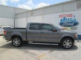 2014 Sterling Grey Ford F150 Lariat SuperCrew #93752294