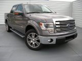 2014 Sterling Grey Ford F150 Lariat SuperCrew #93752561