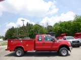 2015 Vermillion Red Ford F250 Super Duty XL Super Cab 4x4 Utility #93752274