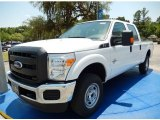 2015 Oxford White Ford F250 Super Duty XLT Crew Cab 4x4 #93752378