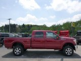 2015 Ruby Red Ford F250 Super Duty Lariat Crew Cab 4x4 #93752267