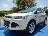 2014 Ingot Silver Ford Escape Titanium 1.6L EcoBoost #93752375
