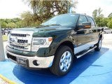 2014 Green Gem Ford F150 XLT SuperCrew #93752372