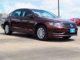 2014 Opera Red Metallic Volkswagen Passat 1.8T S #93752756