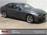 2014 Mineral Grey Metallic BMW 3 Series 328i Sedan #93752595