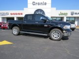 2014 Black Ram 1500 Laramie Longhorn Crew Cab 4x4 #93752507