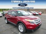 2014 Ruby Red Ford Explorer XLT 4WD #93792951