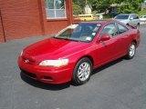 2002 Honda Accord San Marino Red