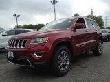 2014 Deep Cherry Red Crystal Pearl Jeep Grand Cherokee Limited 4x4 #93792765