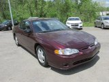 Berry Red Metallic Chevrolet Monte Carlo in 2003
