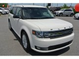 2013 Ford Flex White Suede
