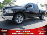 2014 Black Ram 1500 Big Horn Quad Cab #93792963