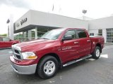 2011 Deep Cherry Red Crystal Pearl Dodge Ram 1500 SLT Crew Cab 4x4 #93793178